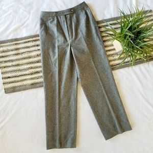 Vintage Grey Wool Dress Pants